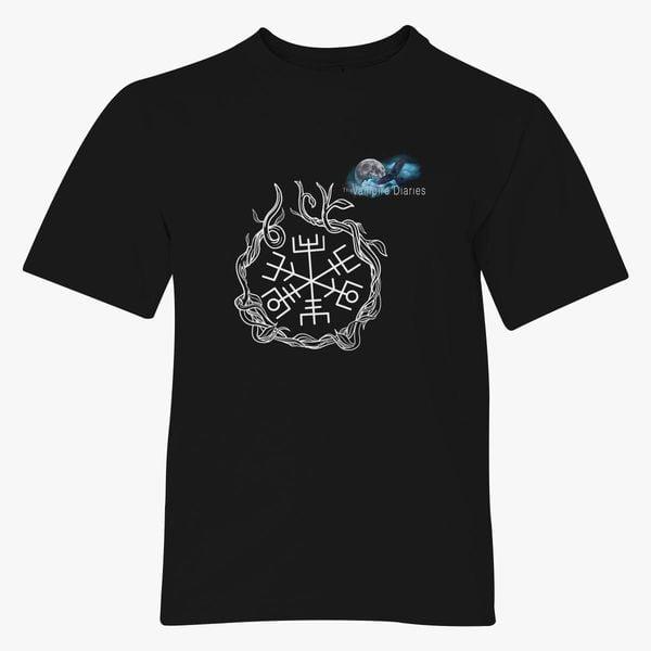 The Vampire Diaries Hunters White Youth T Shirt Customon