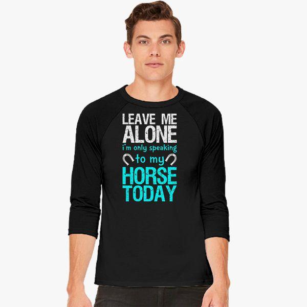 cba83731a096 The Leave Me Alone Baseball T-shirt - Customon