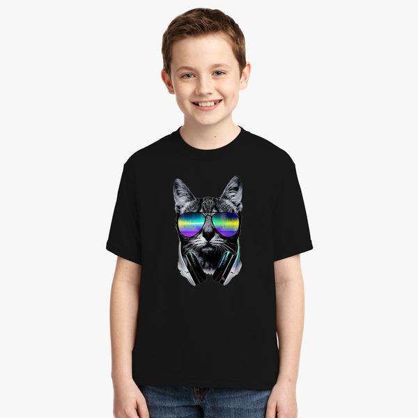 bba8903e Cool Cat Youth T-shirt - Customon
