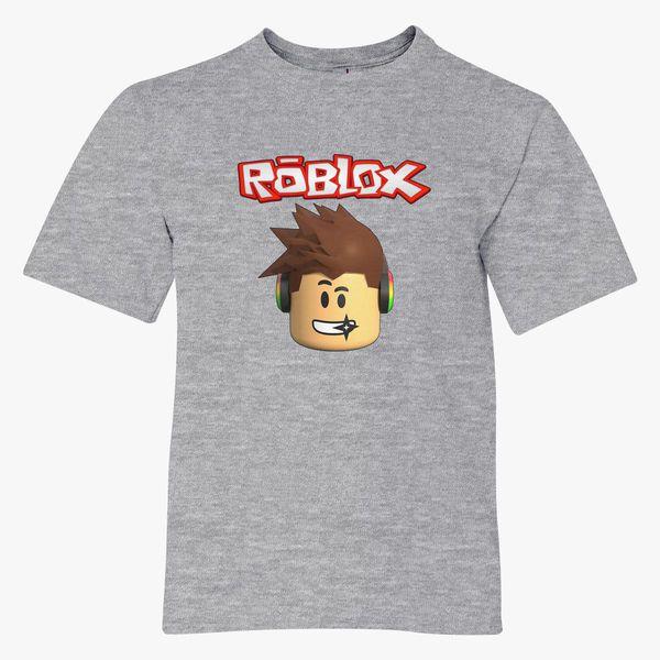 Roblox Head Youth T Shirt Customon