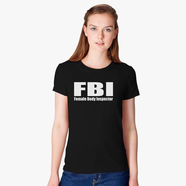2166d0dd FBI Women's T-shirt - Customon