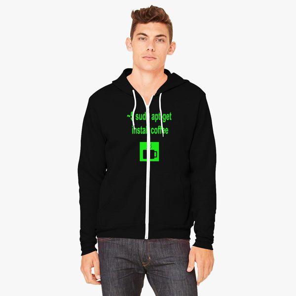 install zipper in hoodie