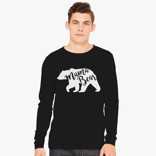 e2c29d14 Mama Bear Long Sleeve T-shirt - Customon