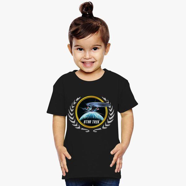 Buy Star trek Federation Planets Enterprise D 2 Toddler T-shirt, 526687