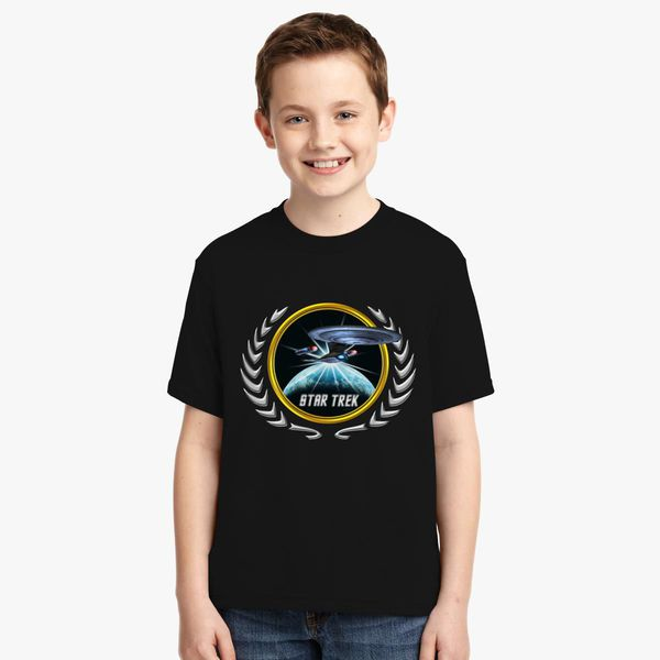 Buy Star trek Federation Planets Enterprise D 2 Youth T-shirt, 526691