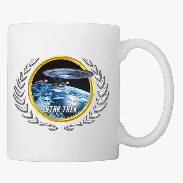 Buy Star trek Federation Planets Enterprise D Coffee Mug, 526929