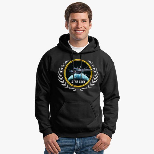Buy Star trek Federation Planets Enterprise Galaxy Class Dreadnought 2 Unisex Hoodie, 527013