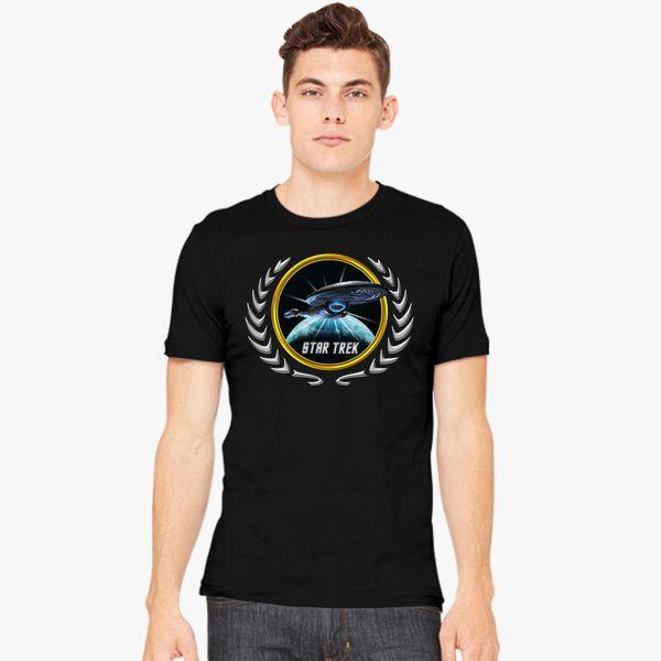 Buy Star trek Federation Planets Voyager 2 Men's T-shirt, 529370
