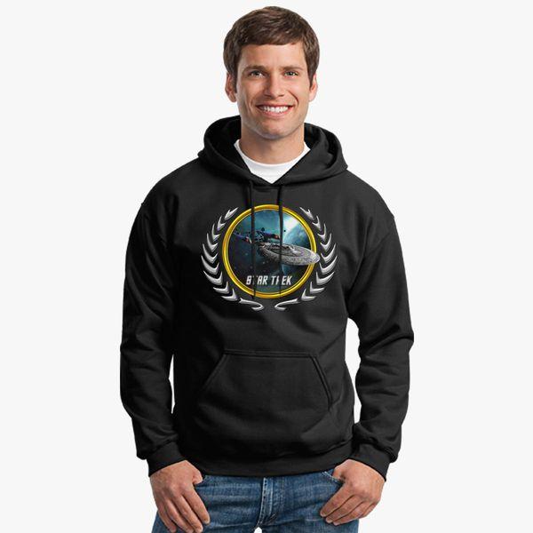Buy Star trek Federation Planets Enterprise sovereign E Unisex Hoodie, 535203