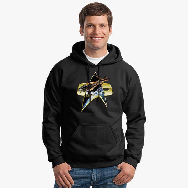 Buy Star Trek Species 8472 bioship Com Badge Unisex Hoodie, 536178