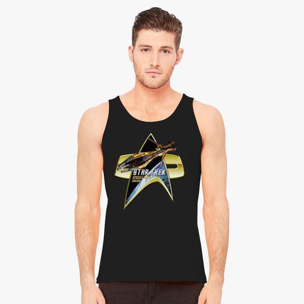 Buy Star Trek Species 8472 bioship Com Badge Men's Tank Top, 536259