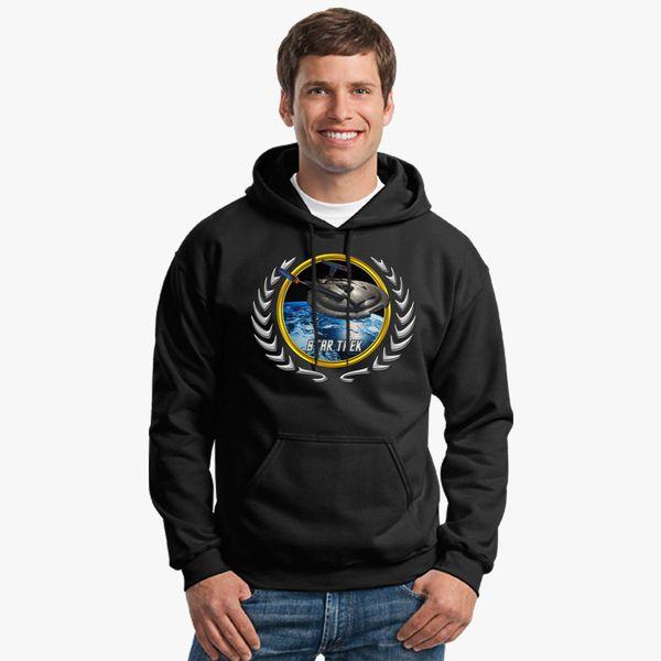 Buy Star trek Federation Planets Enterprise NX01 Unisex Hoodie, 537543