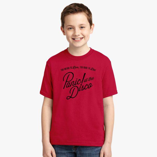 e7136de74 panic at the disco logo Youth T-shirt - Customon