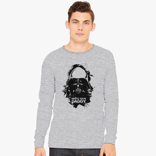 89a8af7a Who's Your Daddy Long Sleeve T-shirt - Customon