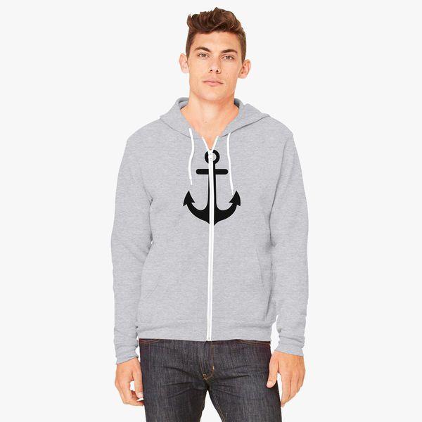 Buy Anchor Unisex Zip-Up Hoodie, 57011