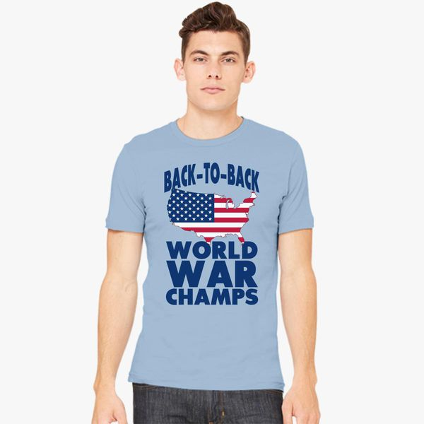 2dad916450b Back to back world war champions Men s T-shirt - Customon