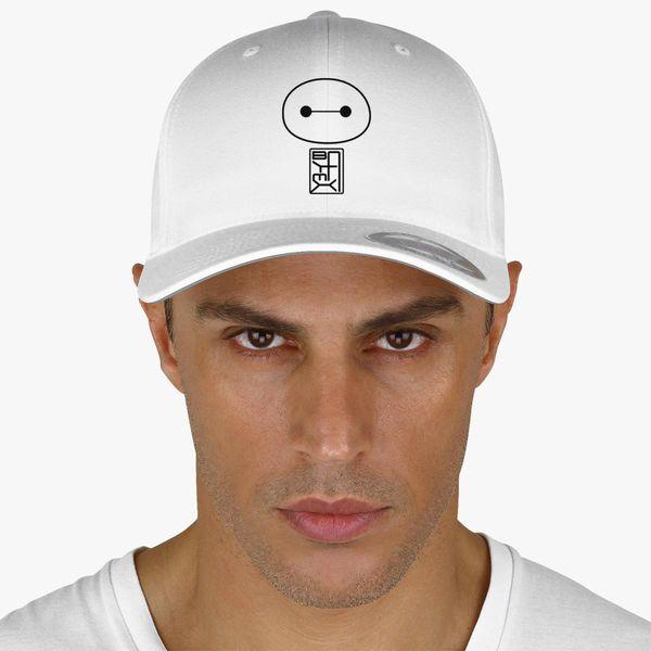 a8f51b67c35 Big Hero Six Baymax face Baseball Cap (Embroidered) - Customon