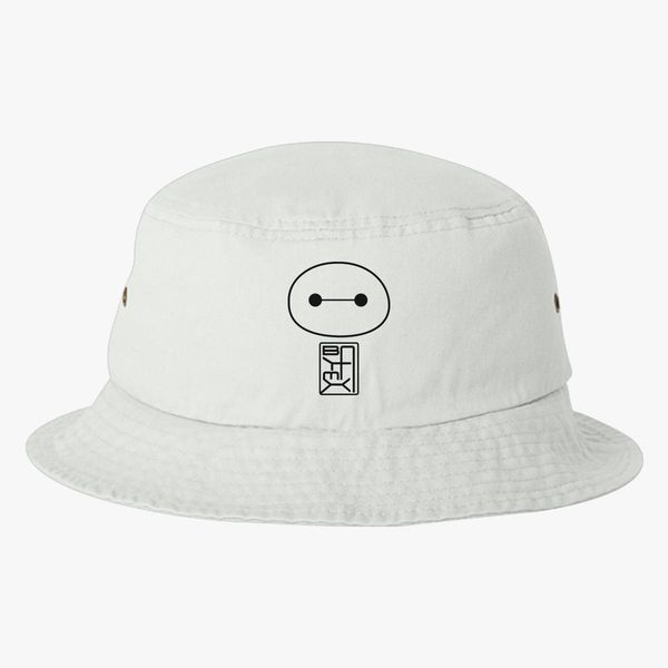 a68d1ea01b4 Big Hero Six Baymax face Bucket Hat (Embroidered) - Customon