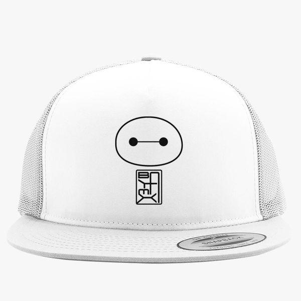 3ed86c7a1b6 Big Hero Six Baymax face Trucker Hat (Embroidered) - Customon