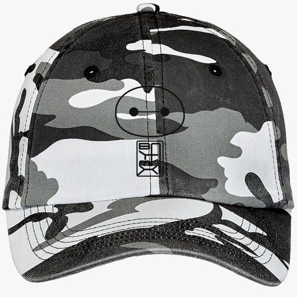 2096c2d33cd Big Hero Six Baymax face Camouflage Cotton Twill Cap (Embroidered ...