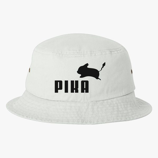 7d634de9f51 ... sale pika by puma bucket hat embroidered customon 74903 5c464