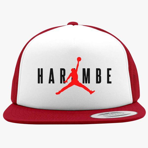 17b1f769 Haramble X Jordan Foam Trucker Hat - Customon