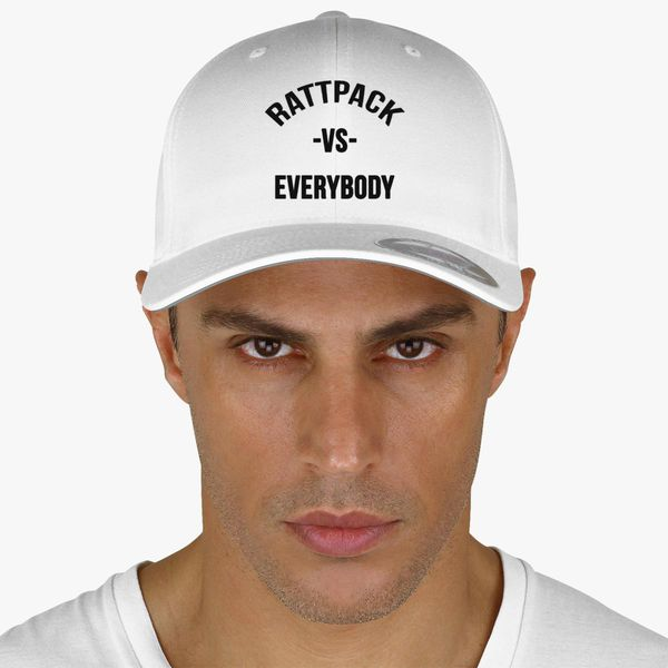 085d331c56f68 RattPack VS Everybody Black T-Shirt Baseball Cap (Embroidered ...