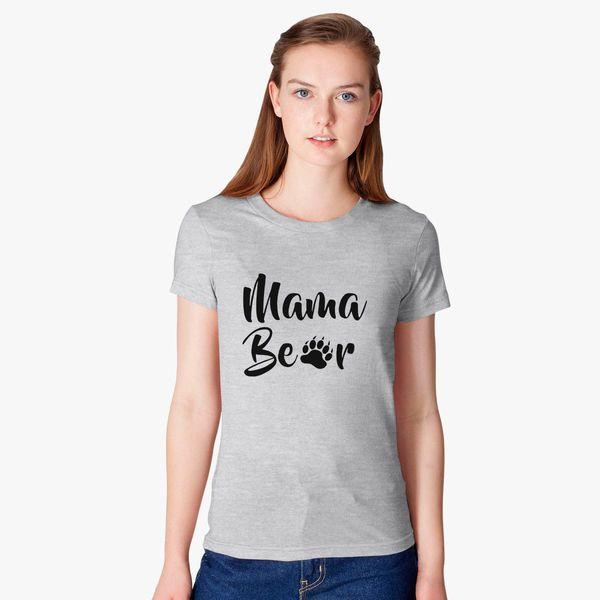 29ed12c6 Mama Bear Women's T-shirt - Customon