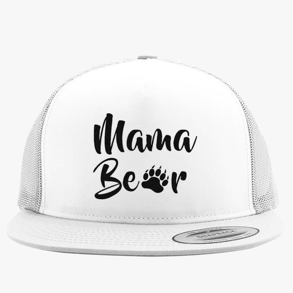 5d426647c4011 Mama Bear Trucker Hat (Embroidered) - Customon