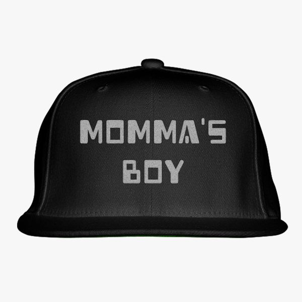 5da28863 Momma's Boy Snapback Hat (Embroidered) - Customon