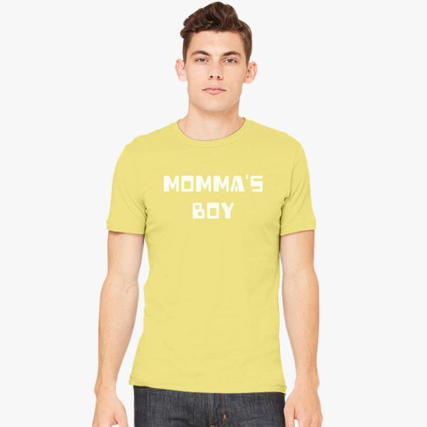 1dab492c Momma's Boy Men's T-shirt - Customon