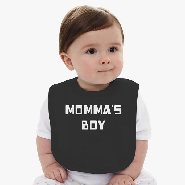5cc133c5 Momma's Boy Baby Bib - Customon