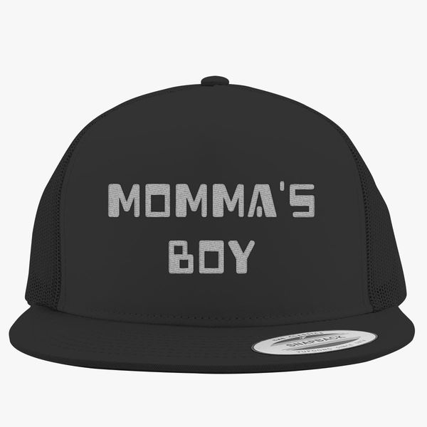 54b6028e Momma's Boy Trucker Hat (Embroidered) - Customon