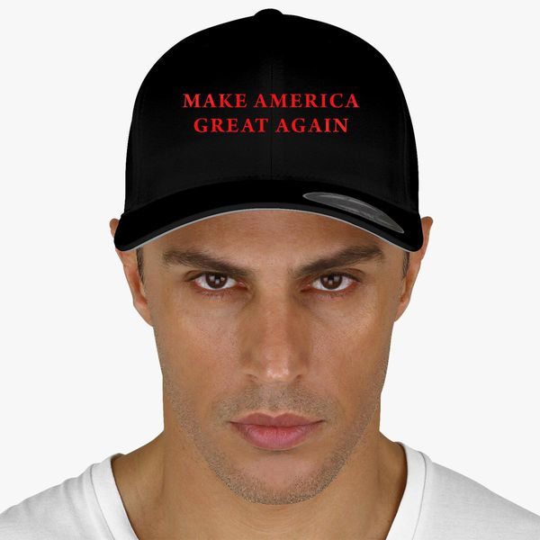 ec02a6410 Make America Great Again Donald Trump Baseball Cap (Embroidered) - Customon