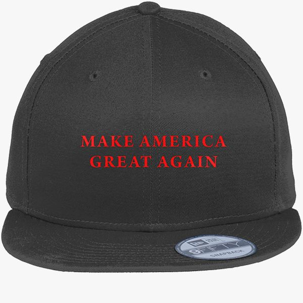 8d01309d3 Make America Great Again Donald Trump New Era Snapback Cap - Embroidery