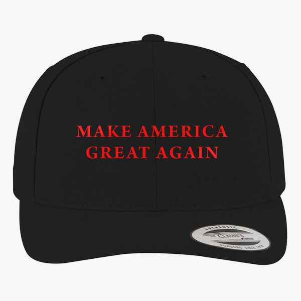 598836326 Make America Great Again Donald Trump Brushed Cotton Twill Hat  (Embroidered) - Customon