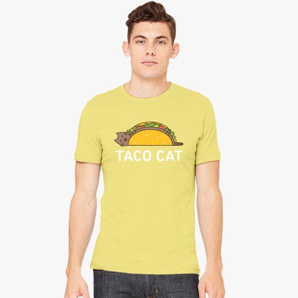 776e209ae5 Funny Taco Shirt Cinco De Mayo T Shirt Taco Cat T Shirt Mexican Food Joke  Gifts For Cat Lovers Men's T-shirt - Customon