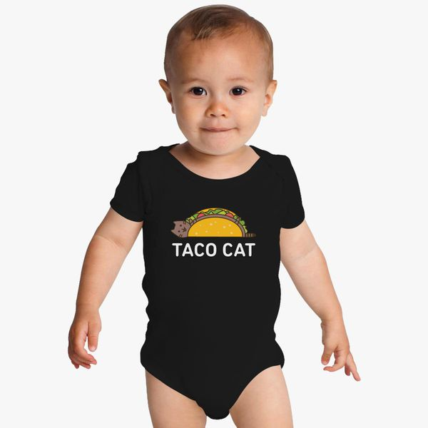 f693f28493 Funny Taco Shirt Cinco De Mayo T Shirt Taco Cat T Shirt Mexican Food Joke  Gifts For Cat Lovers Baby Onesies