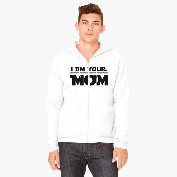 Buy Am Mom Unisex Zip-Up Hoodie, 651631