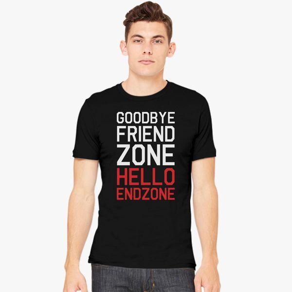 Buy Goodbye Friend zone Hello End zone Men's T-shirt, 662945