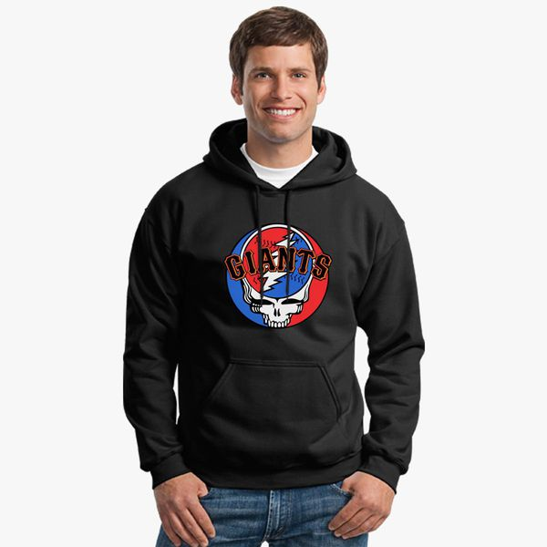 super popular 029bb 8e8d9 Grateful Dead SF Giants Unisex Hoodie - Customon
