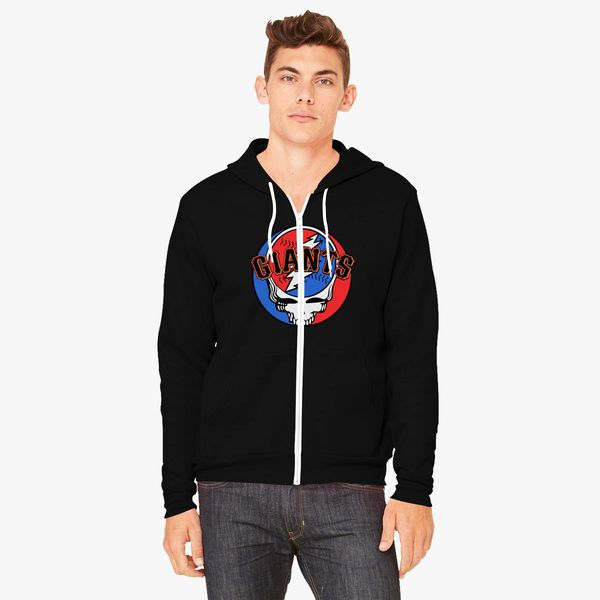 newest b632e 70bea Grateful Dead SF Giants Unisex Zip-Up Hoodie - Customon