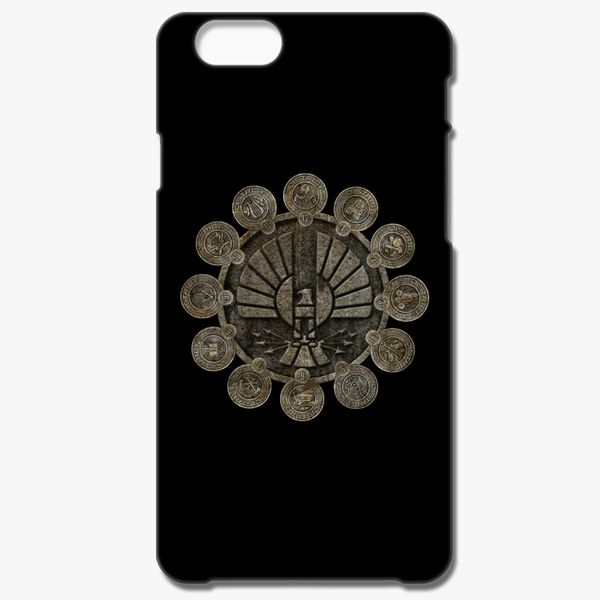 huge discount cd336 e12f7 The Hunger Games Districts iPhone 6/6S Case - Customon