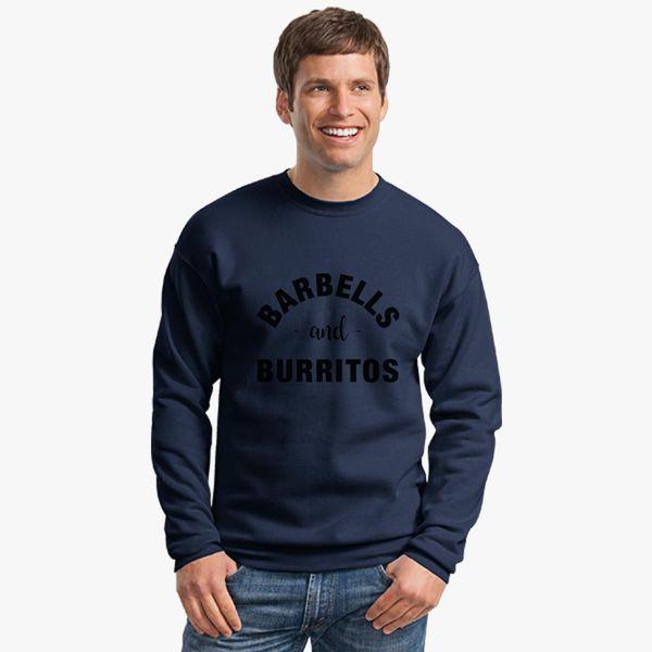 e13ae270b717d4 Barbells and Burritos Tshirt - Foodie Fitness Tshirt, Foodie Workout Shirt,  Foodie Shirt, Foodie Gift, Gift for Foodie, Fit Foodie Shirt Crewneck  Sweatshirt