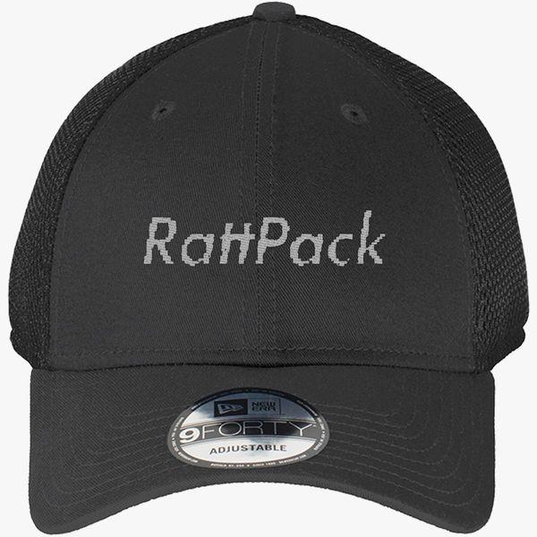 98b5d9856d816d RattPack Supreme Logo New Era Baseball Mesh Cap (Embroidered ...