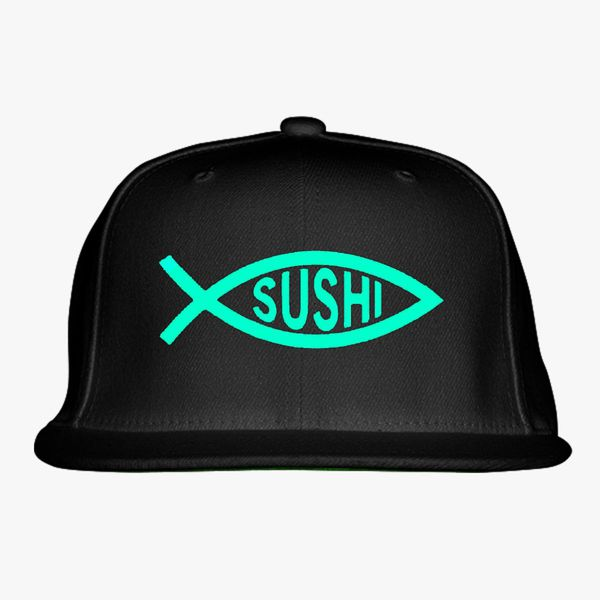 d0555e95652d1 Sushi Fish Snapback Hat (Embroidered) - Customon