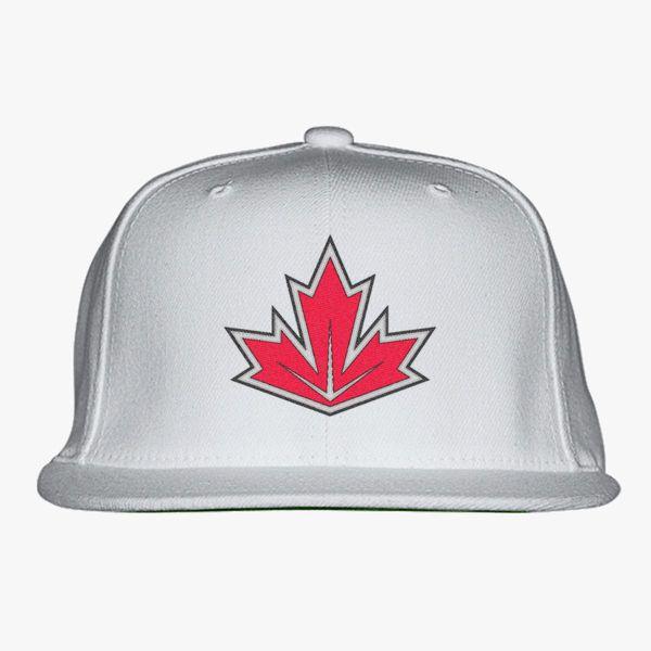 4e44aedca82 WCH Team Canada Snapback Hat (Embroidered) - Customon
