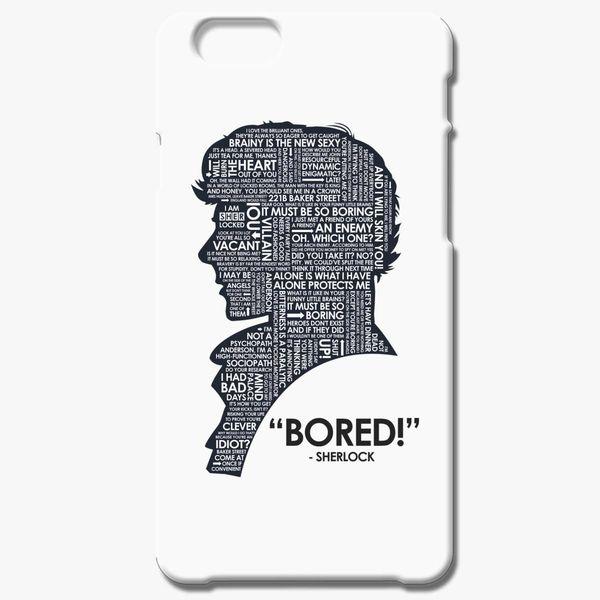 Sherlock Holmes Quotes iPhone 6/6S Plus Case - Customon