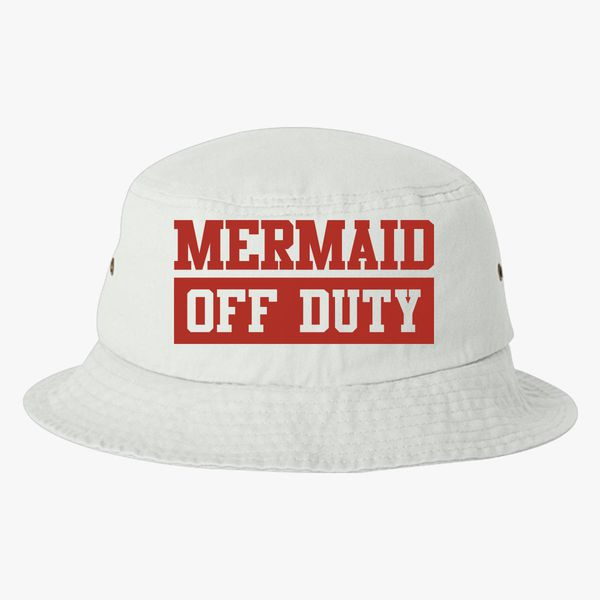 c1d21c417c9b6 Mermaid Off Duty Bucket Hat (Embroidered) - Customon