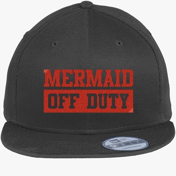 d1307bfb921c8 Mermaid Off Duty New Era Snapback Cap (Embroidered) - Customon